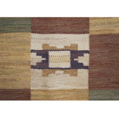 #645 Vintage Swedish Flat Weave Rug by Marta Maas-Fjetterstrom