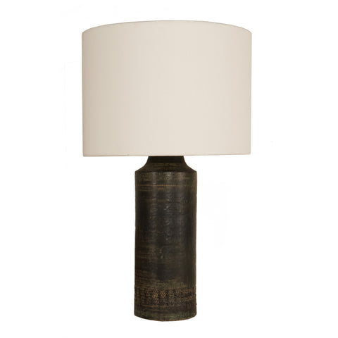 #695 Table Lamp in Stoneware by Aldo Londi