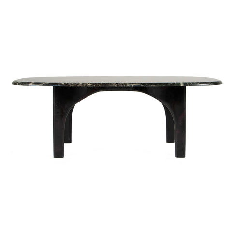 #718 Coffee Table in Rosso Levanto Marble