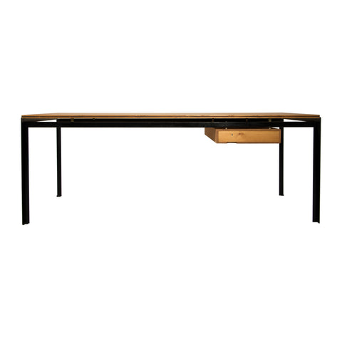 #898 Desk in Oregon Pine by Poul Kjaerholm