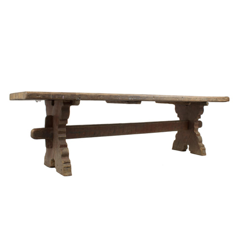#91 Baroque Trestle Table