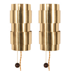 #951 Pair of Sconces in Brass by Hans Agne Jakobsson