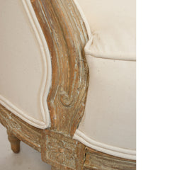 #998 Gustavian Tub Sofa