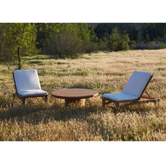 #3005 Dal - Round Outdoor Coffee Table in Teak