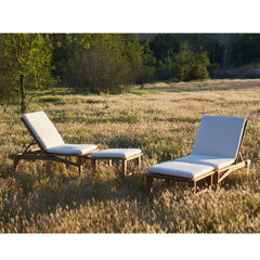 #3006 Sol - Sun Lounger in Teak