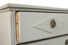 #777 Gustavian Chest of Drawers