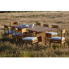 #3004 Vind - Outdoor Dining Table in Teak