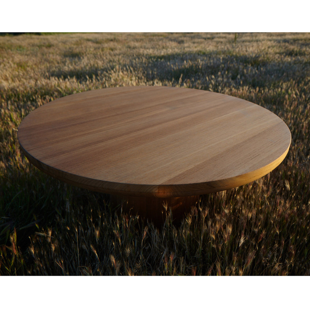 #3005 Dal - Round Outdoor Coffee Table in Teak – liefgallery