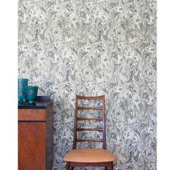 Palazzo - Hand printed Wallpaper - Green