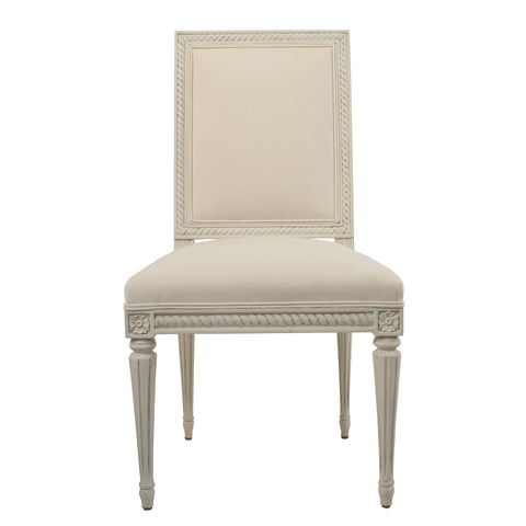 """Eva"" Gustavian Reproduction Dining Side Chair"