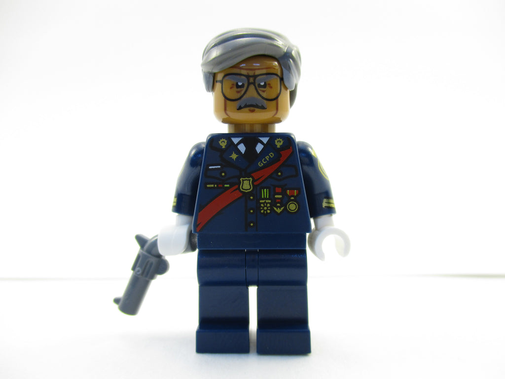 LEGO Batman Movie Commissioner Gordon Minifigure 70908 Mini Fig