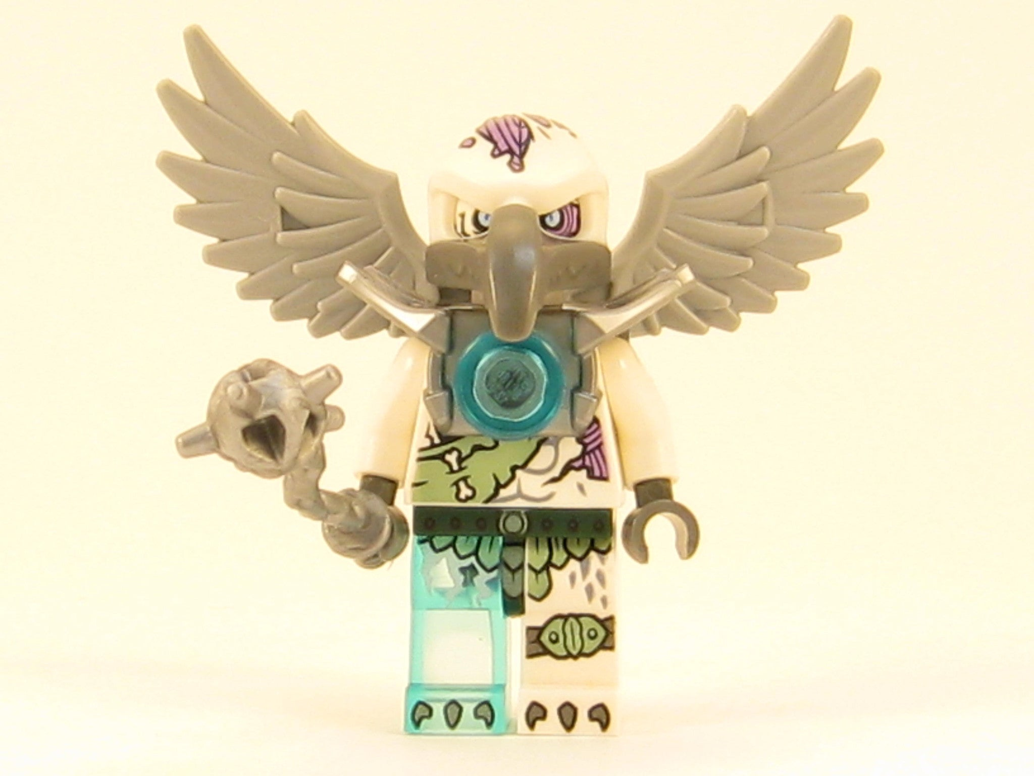 LEGO Legends of Chima Voom Voom Minifigure with Weapon Vulture Tribe