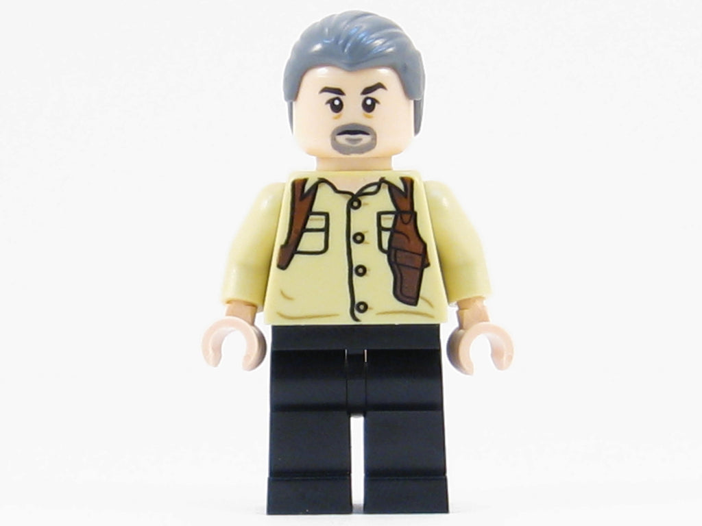 LEGO Jurassic World Vic Hoskins Minifigure