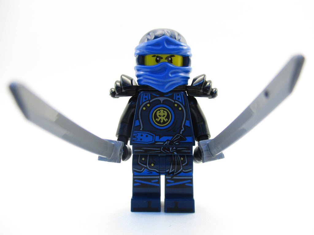 LEGO Ninjago Blue Jay Ninja Minifigure 70626 Hands of Time Mini Fig