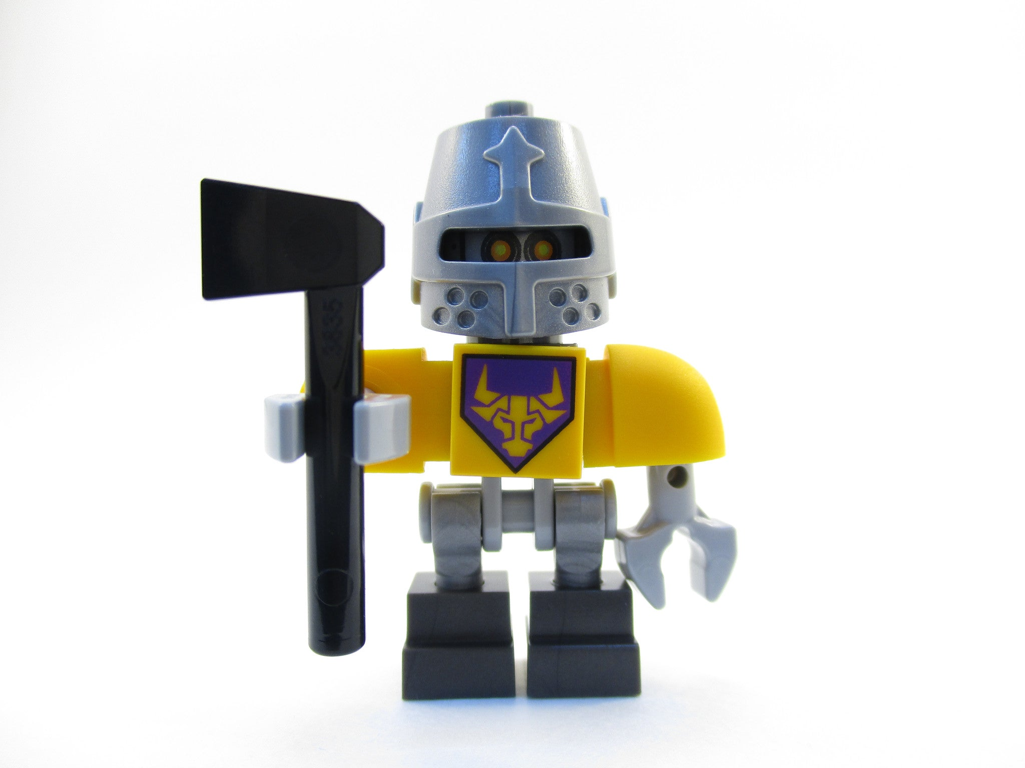LEGO Nexo Knights Axl Bot Minifigure 70322 Mini Fig with Axe