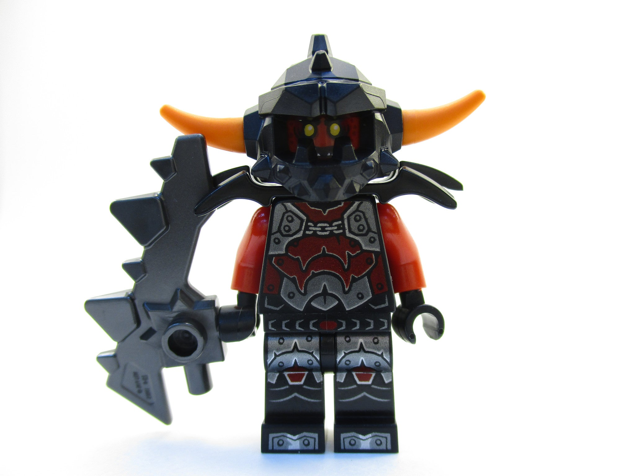 LEGO Nexo Knights Ash Attacker Minifigure 70322 Mini Fig with Weapon