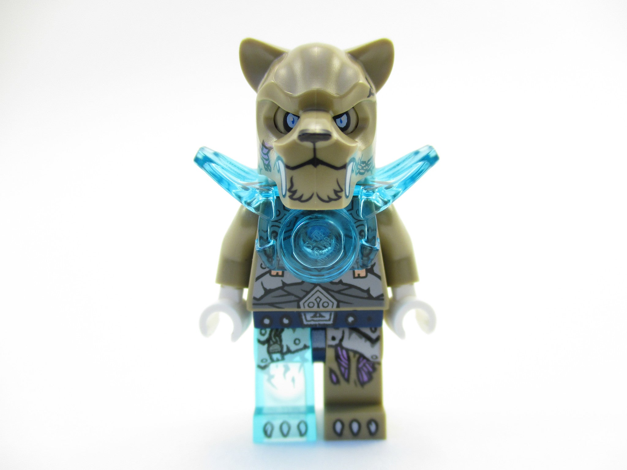 LEGO Legends of Chima Strainor Minifigure 70147 Mini Fig Saber Tooth Tribe
