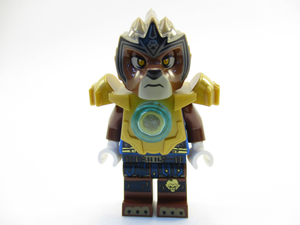 LEGO Legends of Chima Lavertus Minifigure 70129 Mini Fig Lion Warrior
