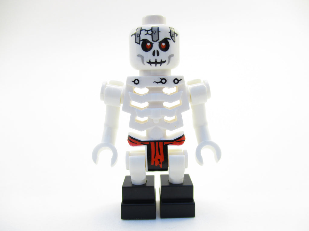 LEGO Ninjago Frakjaw Skeleton Ninja Enemy Minifigure Mini Fig