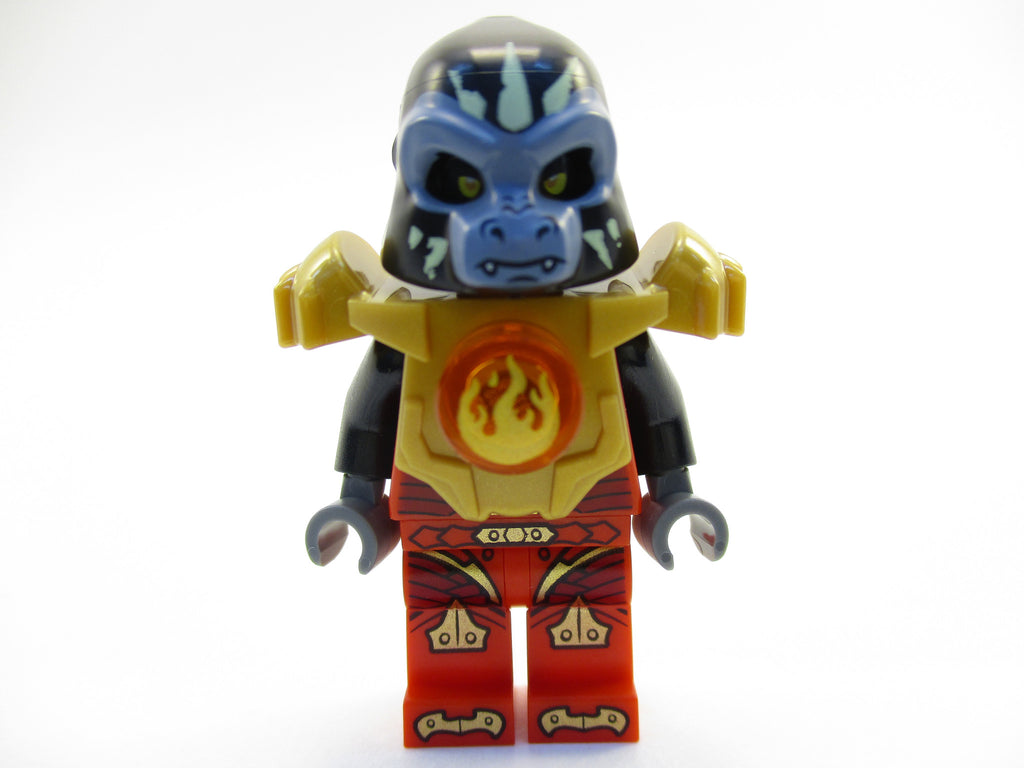 LEGO Legends of Chima Gorzan Minifigure 70147 Mini Fig Gorilla Tribe