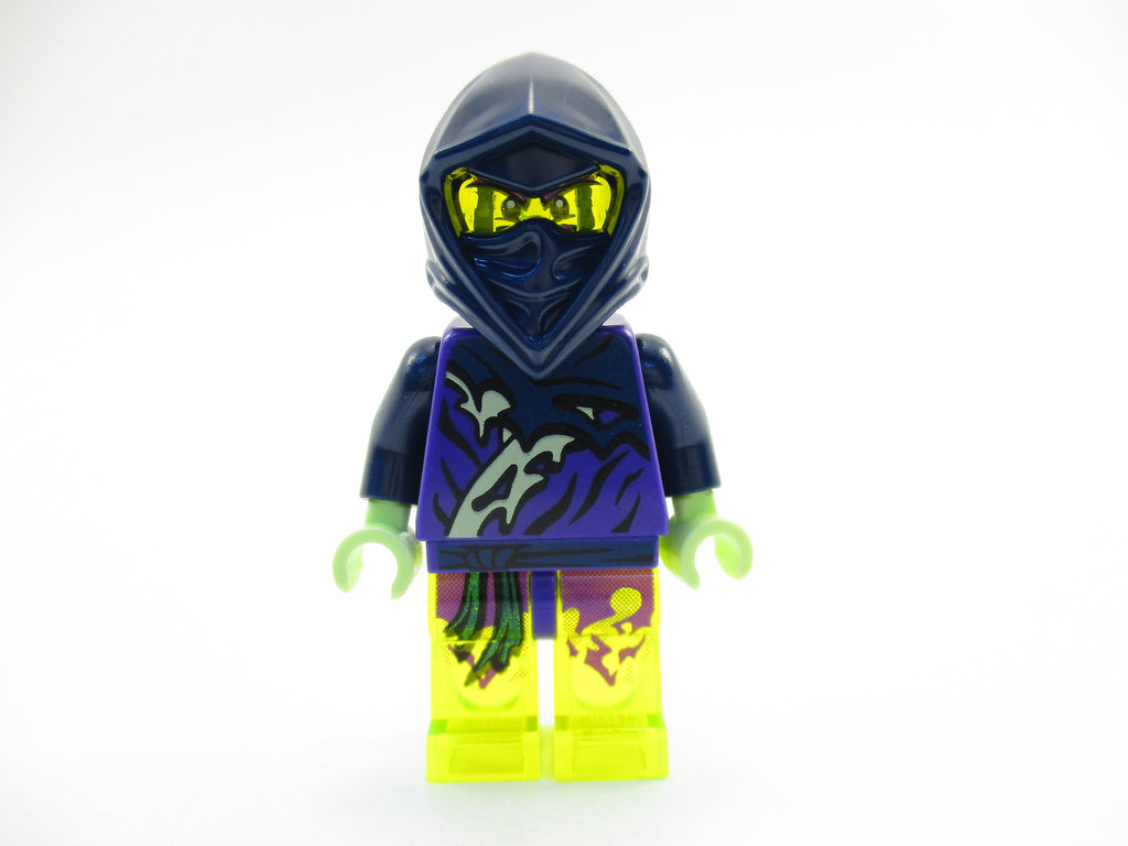LEGO Ninjago Ghost Ninja Warrior Hackler Yokai Minifigure 70736 Mini Fig