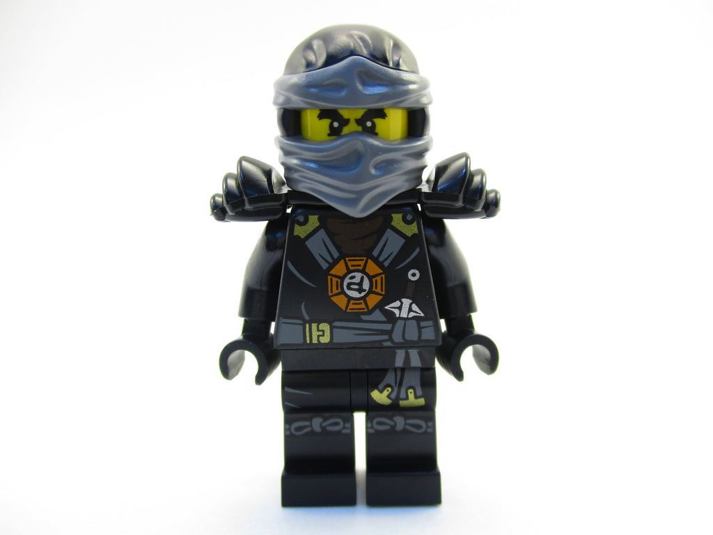 LEGO Ninjago Black Ninja Cole Minifigure 70738 Mini Fig