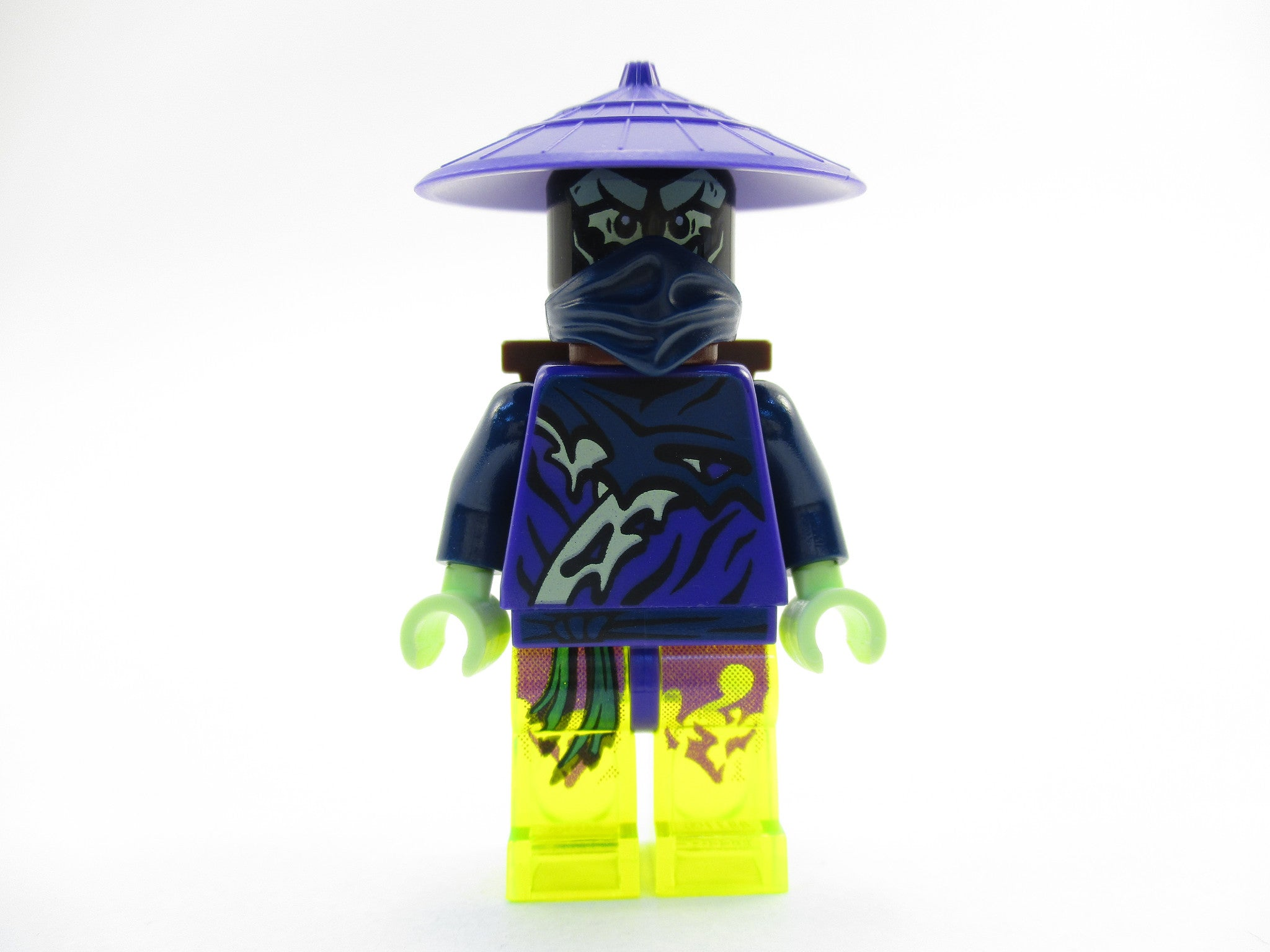 LEGO Ninjago Ghost Warrior Pitch Ninja Enemy Minifigure 70734 Mini Fig