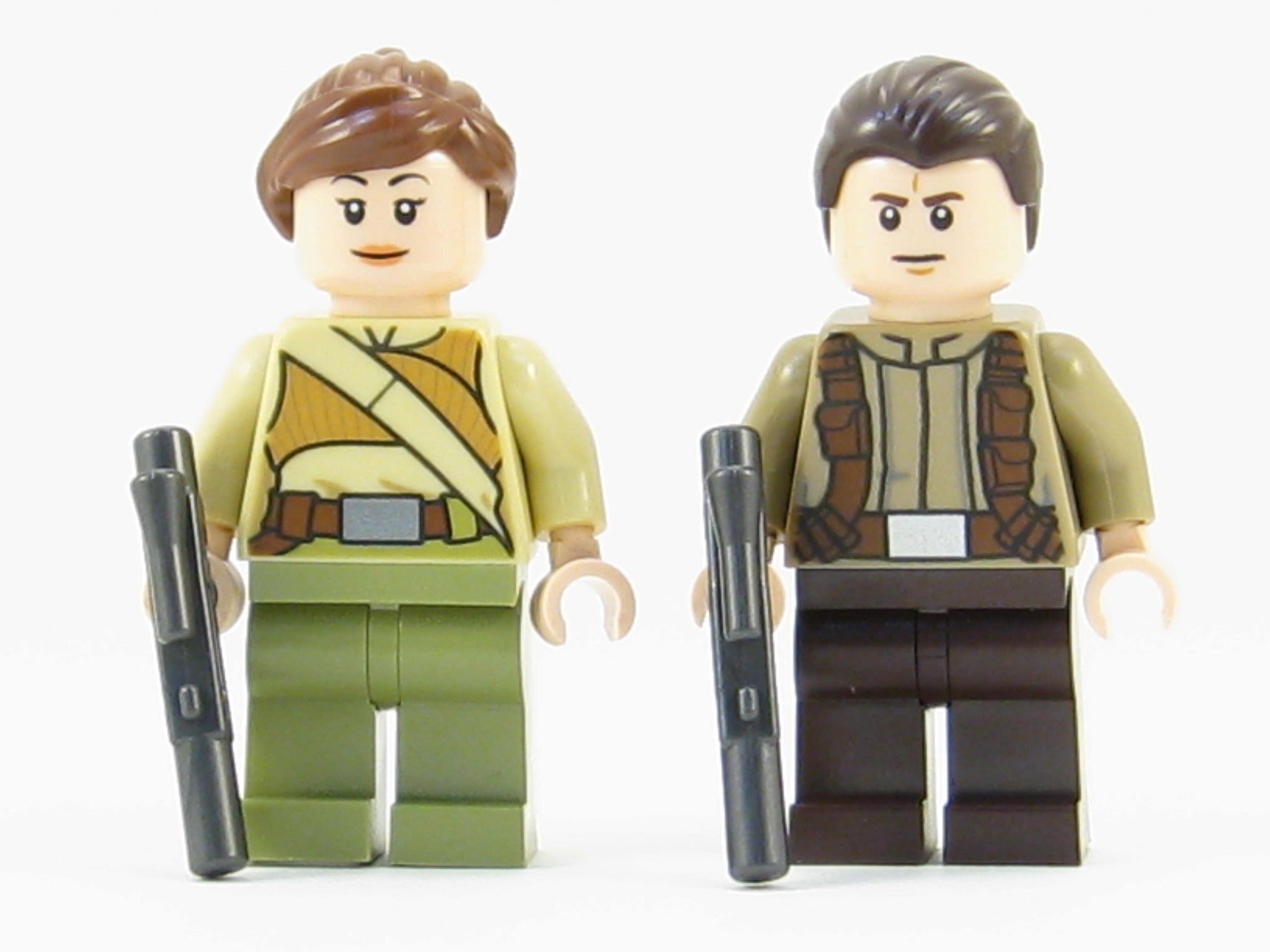 LEGO Star Wars Force Awakens Minifigures Lot of 2 Resistance Soldier Ep. 7 Minif