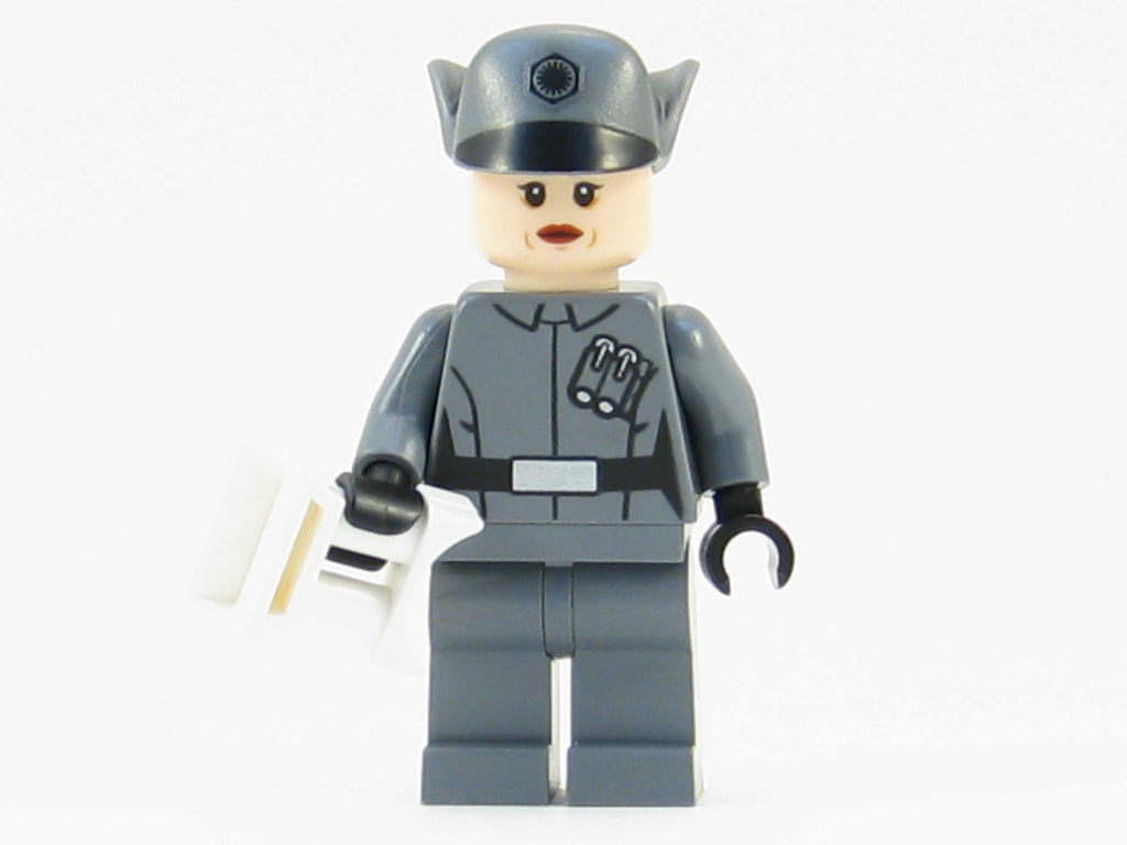 LEGO Star Wars Force Awakens Minifigure Female First Order Officer Minifig