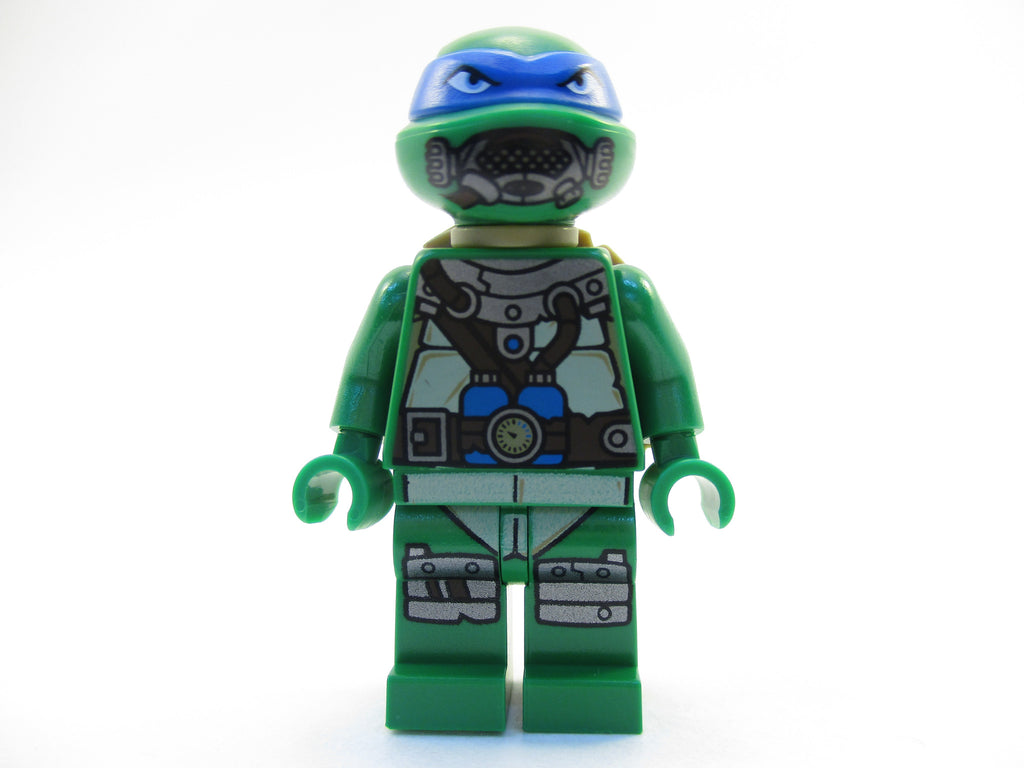 LEGO Teenage Mutant Ninja Turtles Scuba Leonardo Minifigure 79121 TMNT Mini Fig