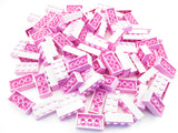 LEGO Bright Pink Brick 2x4 Lot of 100 Parts Pieces 3001