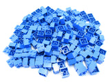 LEGO Blue Brick 2x2 Lot of 100 Parts Pieces 3003
