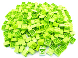 LEGO Lime Brick 2x2 Lot of 100 Parts Pieces 3003