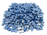 LEGO Dark Blue Brick 1x2 Lot of 100 Parts Pieces 3004