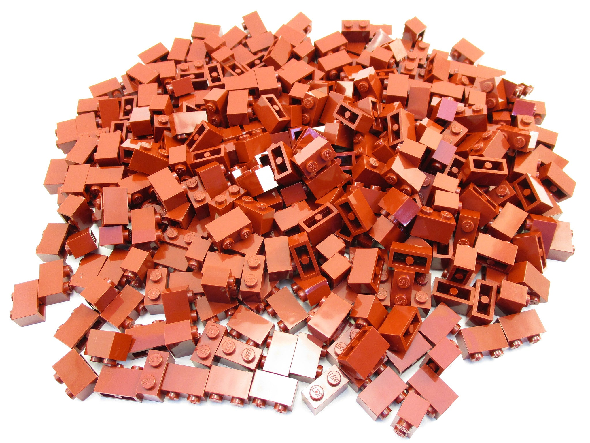 Lego Red Brick 1x2 30 pieces NEW!!!