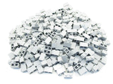 LEGO Light Bluish Gray Brick 1x2 Lot of 100 Parts Pieces 3004 Grey