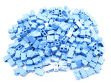 LEGO Medium Blue Brick 1x2 Lot of 100 Parts Pieces 3004