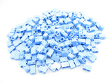 LEGO Bright Light Blue Brick 1x2 Lot of 100 Parts Pieces 3004
