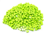 LEGO Lime Brick 1x1 Lot of 100 Parts Pieces 3005