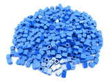 LEGO Blue Brick 1x1 Lot of 100 Parts Pieces 3005