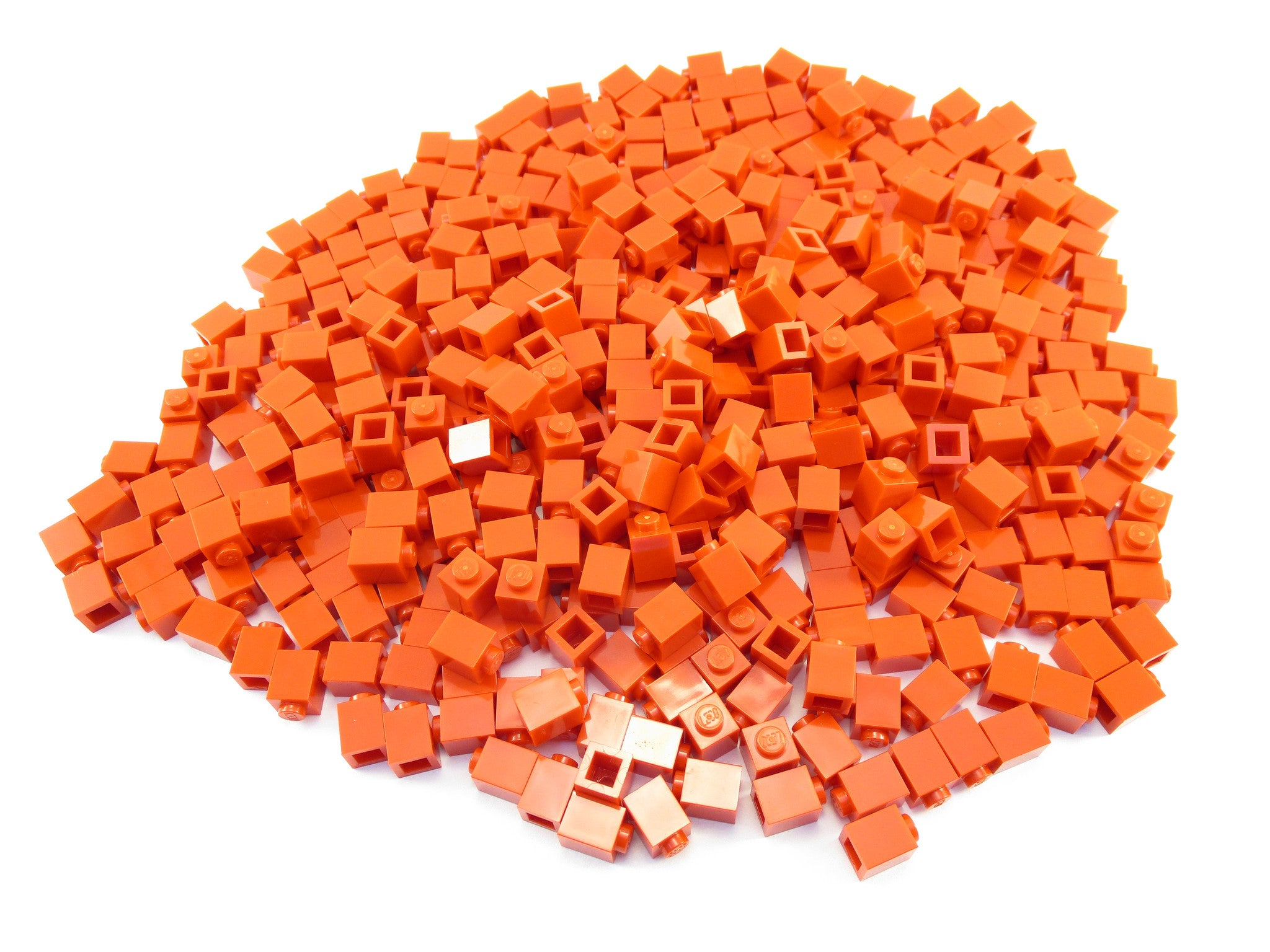 LEGO Red Brick 1x1 Lot of 100 Parts Pieces 3005