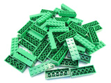 LEGO Green Brick 2x6 Lot of 50 Parts Pieces 2456