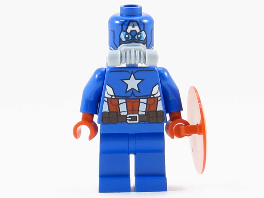 LEGO Marvel Avengers Super Heroes Space Captain America Minifigure