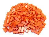LEGO Red Brick 1x3 Lot of 100 Parts Pieces 3622