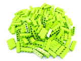 LEGO Lime Brick 1x4 Lot of 100 Parts Pieces 3010