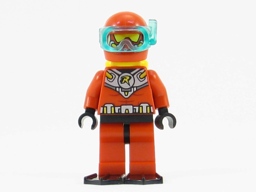 LEGO DC Super Heroes Red Robin Minifigure Mini Fig with Scuba Gear