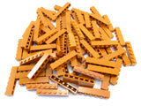 LEGO Dark Orange Brick 1x6 Lot of 50 Parts Pieces 3009
