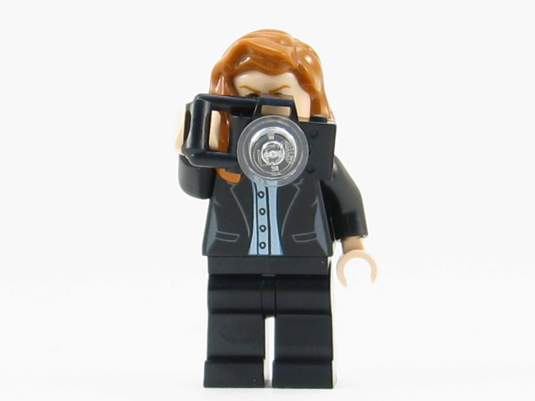 Lego Minifig Camera : Lego dc super heroes lois lane minifigure mini fig with camera
