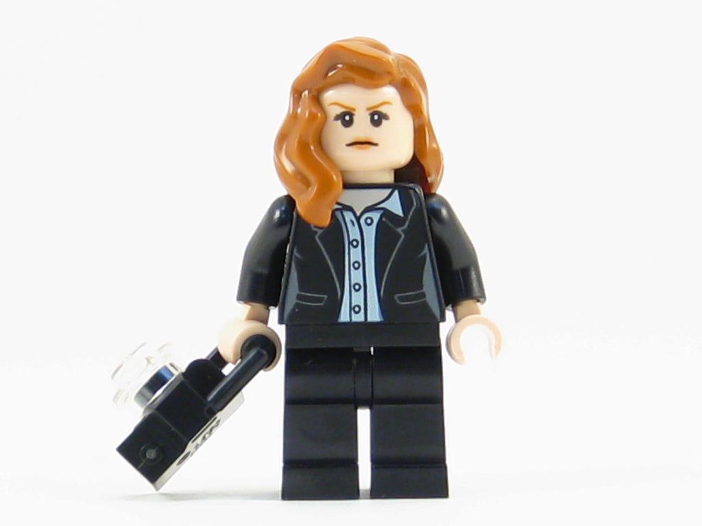 LEGO DC Super Heroes Lois Lane Minifigure Mini Fig with Camera 76046