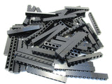 LEGO Black Brick 1x10 Lot of 50 Parts Pieces 6111